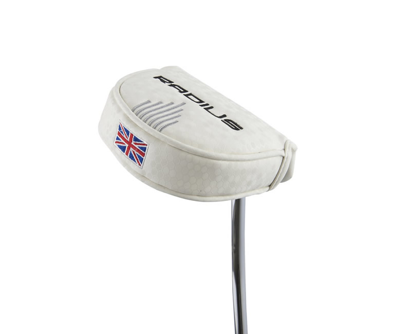 Radius Putter - Headcover White