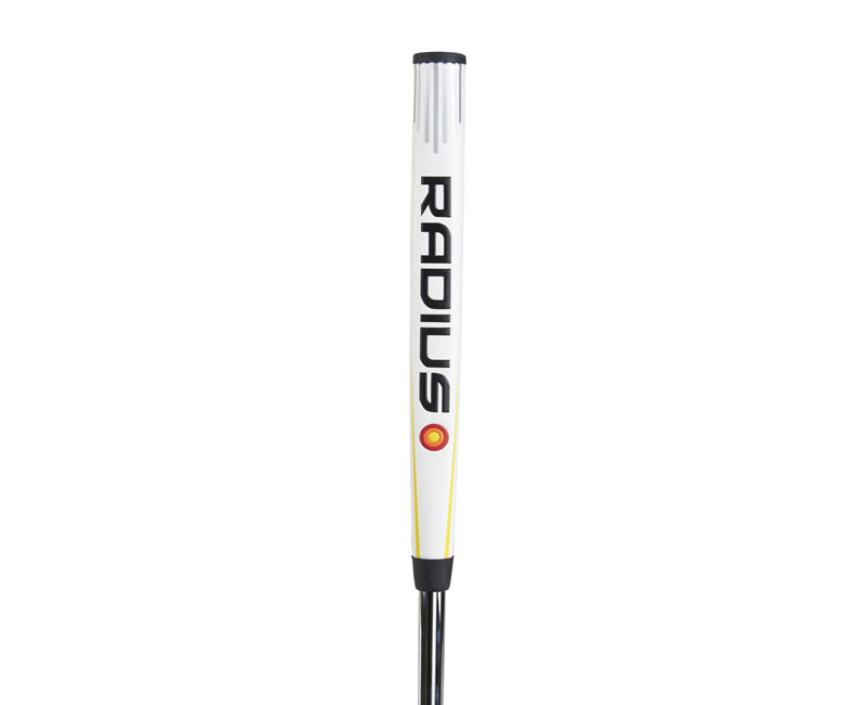 Radius Putter White Grip