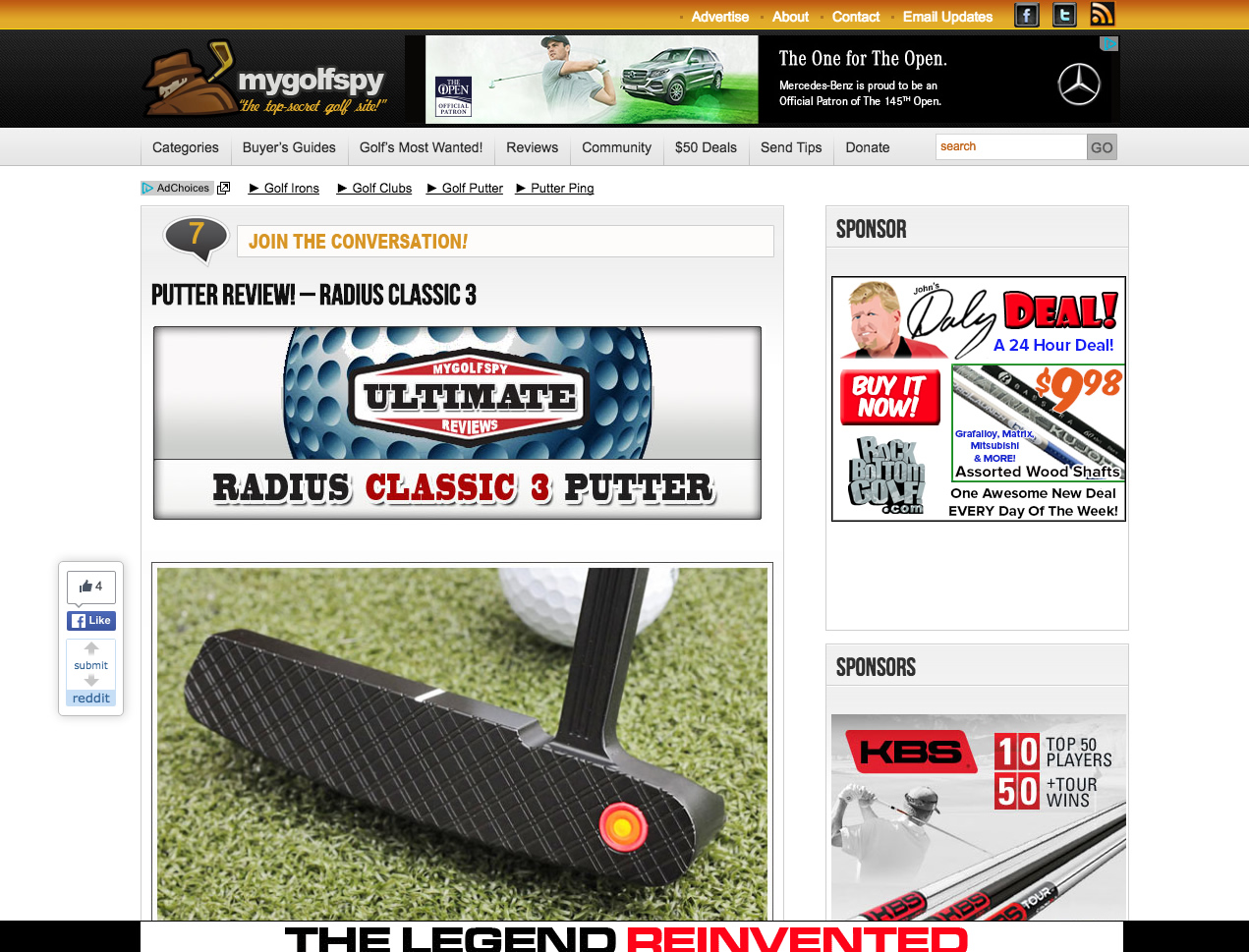 My Golf Spy Review